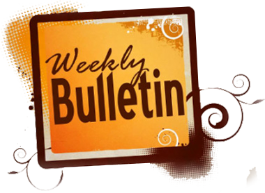 Weekly Bulletin for Sunday, July 26, 2015
